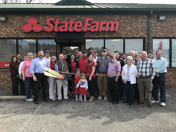 cayce wilson state farm ribbon cutting greater odenville chamber cayce wilson state farm ribbon cutting